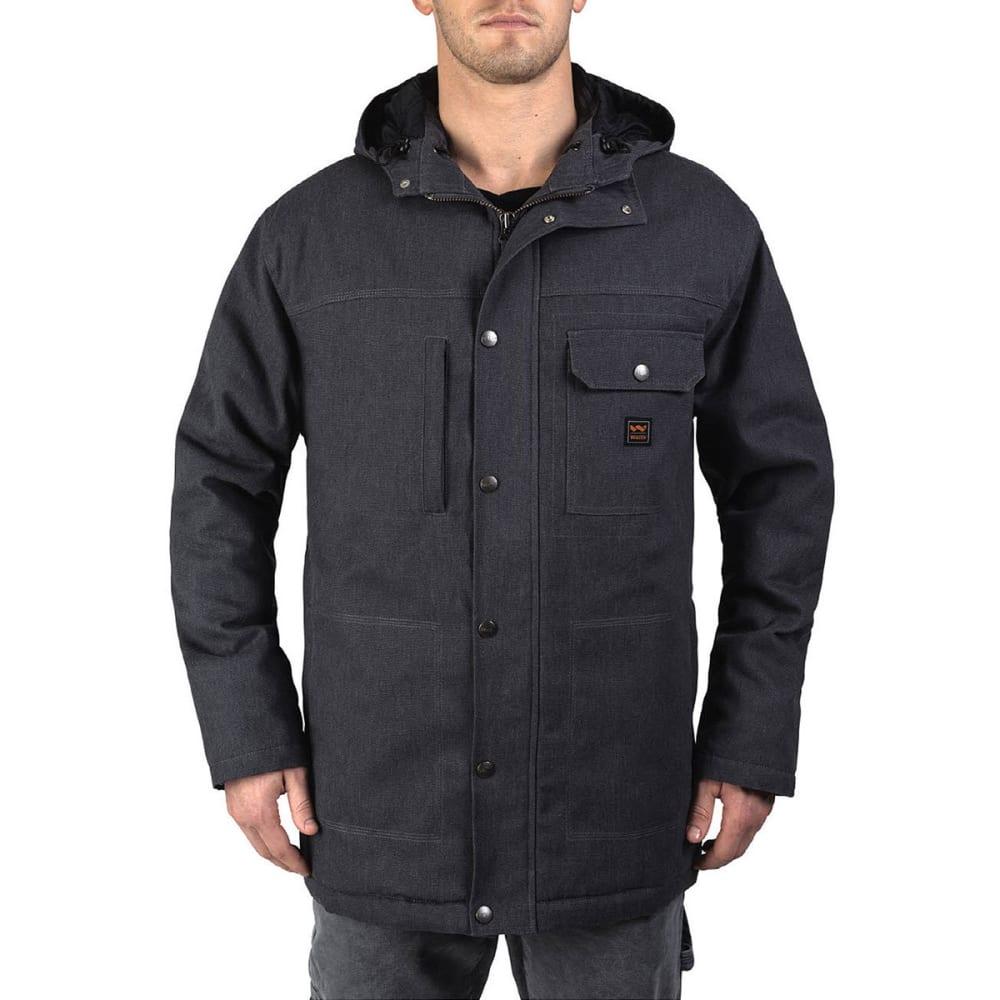 WALLS Men's Workwear Hooded Parka With Kevlar - GA9 GRAPHITE