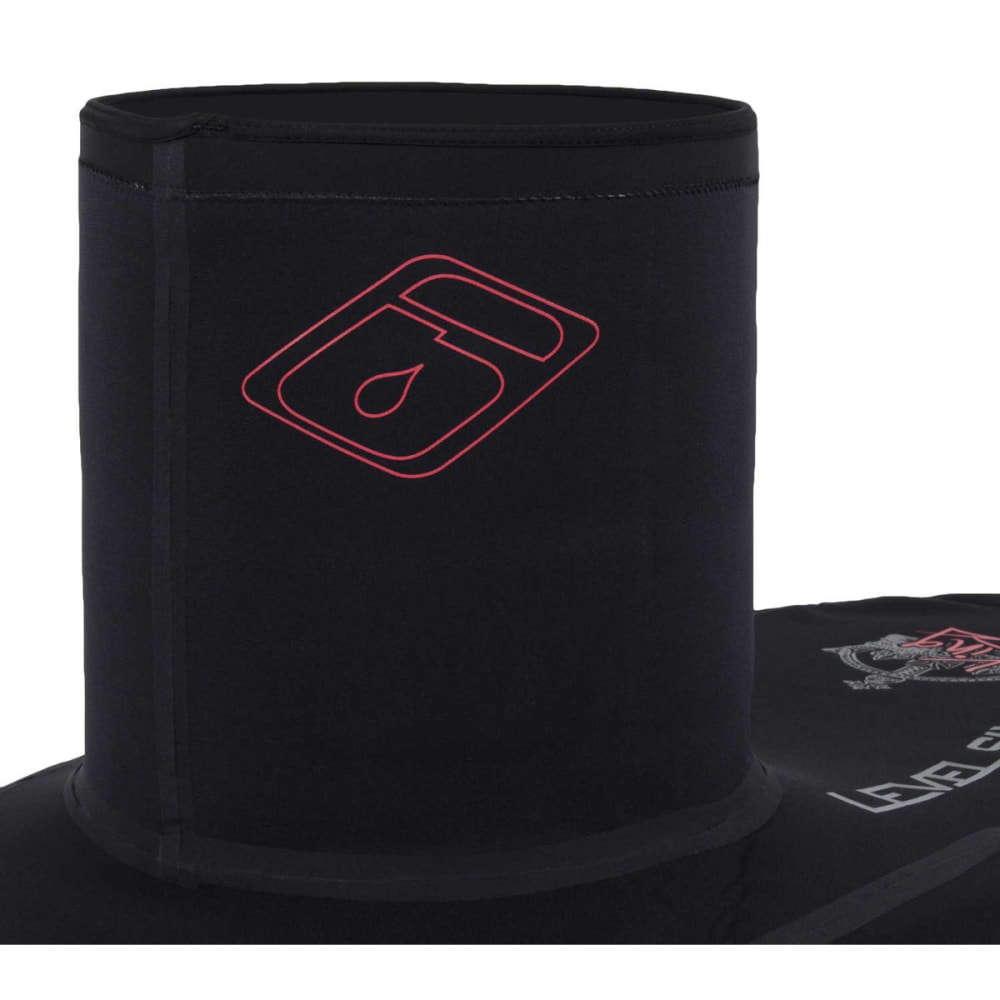 LEVEL SIX King Sprayskirt, Large Deck - BLACK