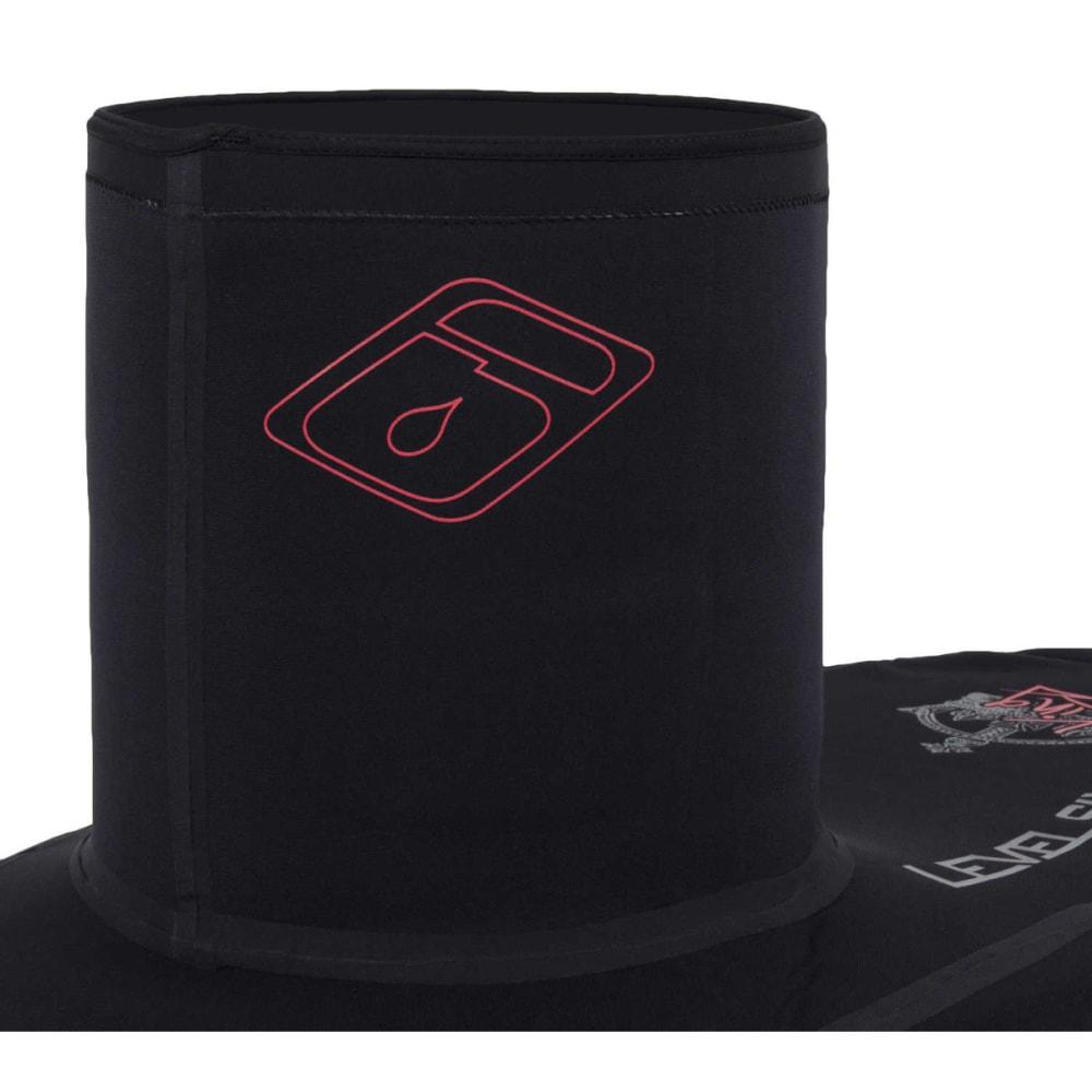 LEVEL SIX King Sprayskirt, Extra Large Deck - BLACK