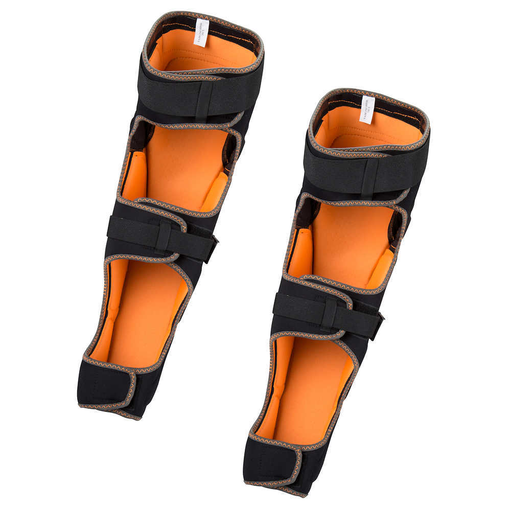 WRSI Animas Knee/Shin pads - BLACK/ORANGE