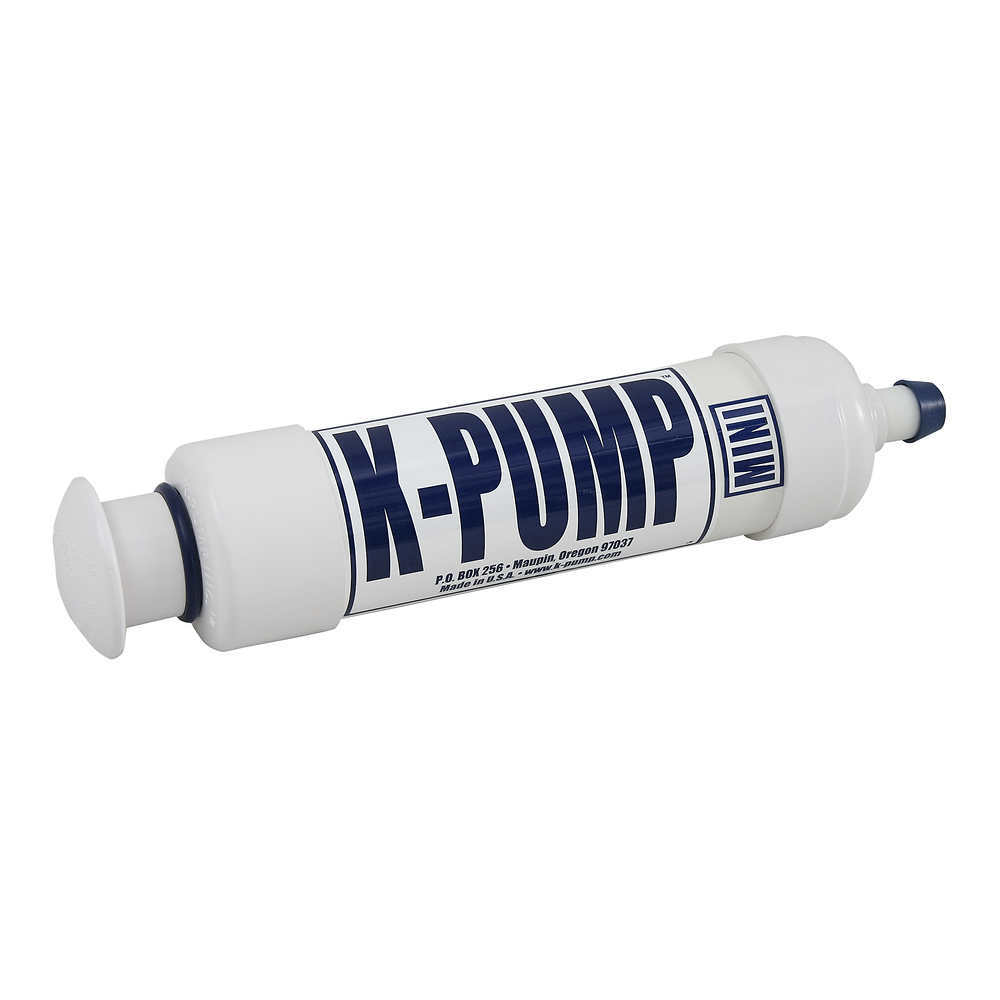 K-PUMP Mini Hand Pump - WHITE