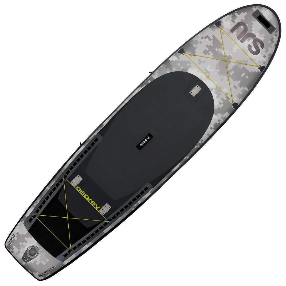 NRS Osprey Inflatable Fishing SUP Board - GREY
