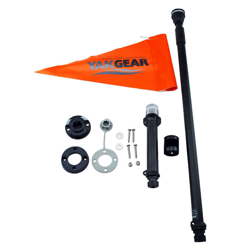 RAILBLAZA Kayak Visibility Kit - BLACK/ORANGE