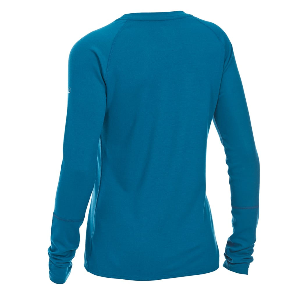 EMS® Women's Techwick® Midweight Long-Sleeve Crew Base Layer - DEEP LAGOON