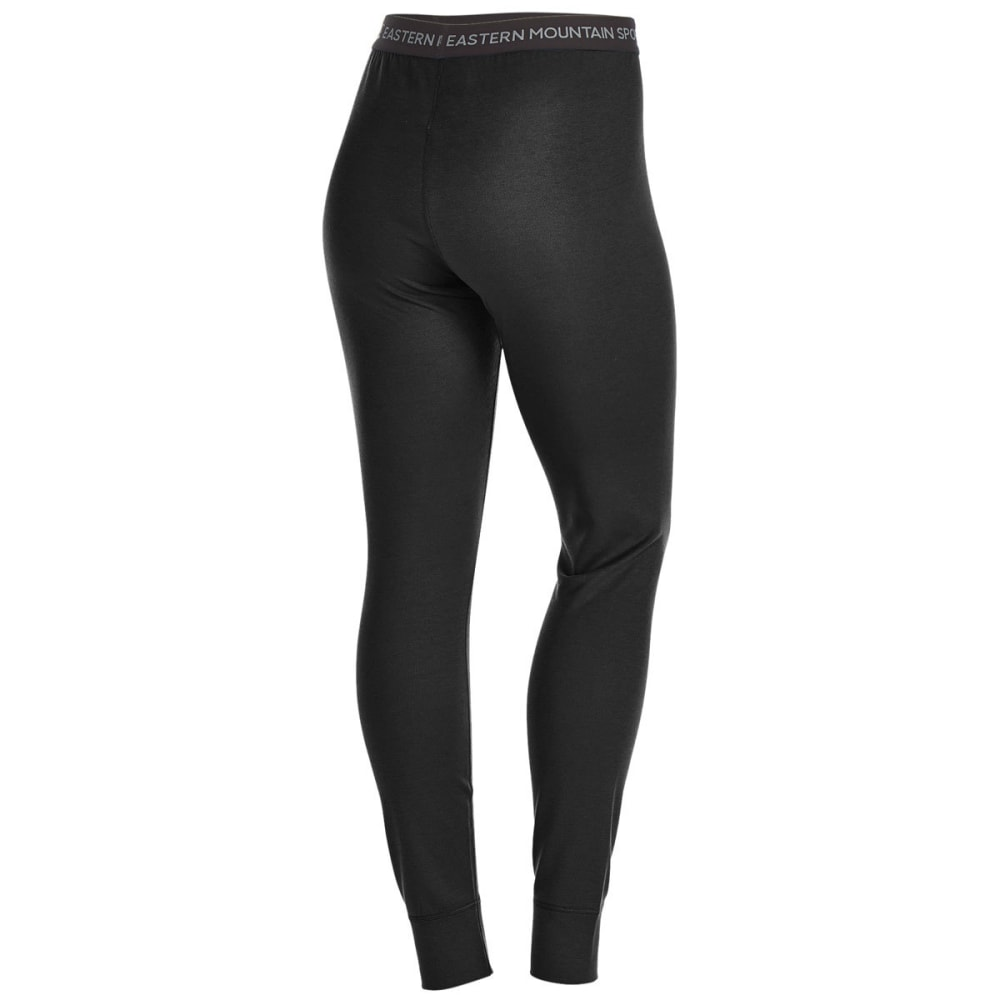 EMS Women's Techwick Midweight Base Layer Tights - BLACK