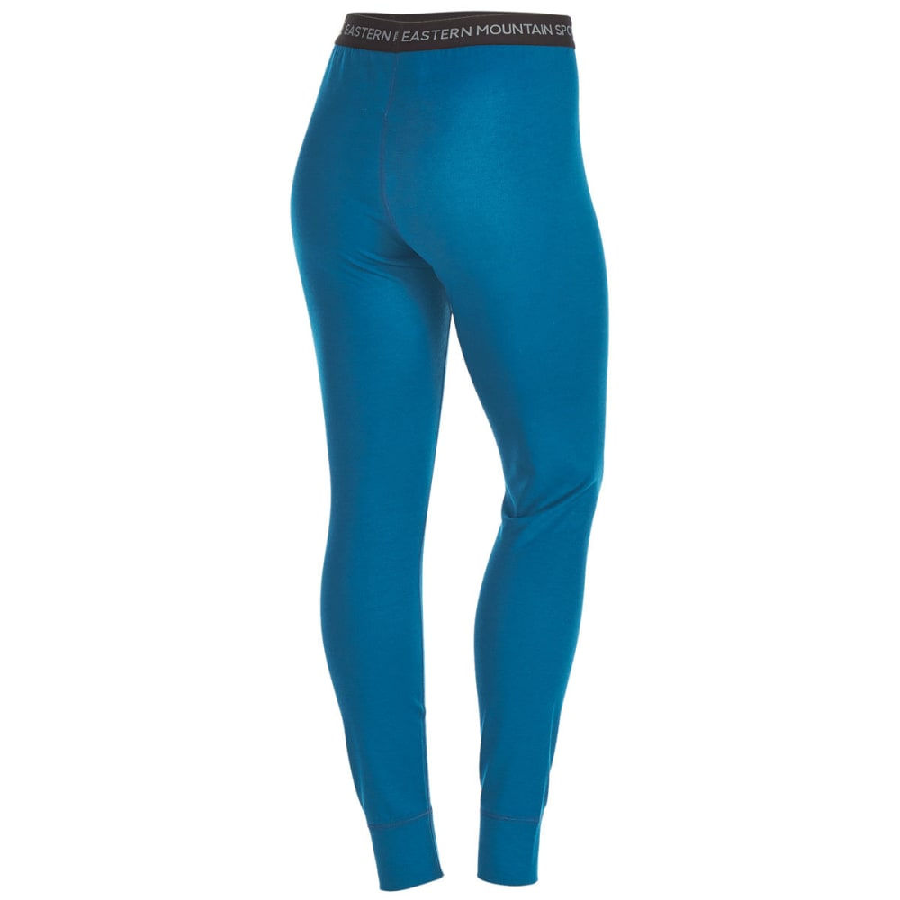 EMS Women's Techwick Midweight Base Layer Tights - DEEP LAGOON