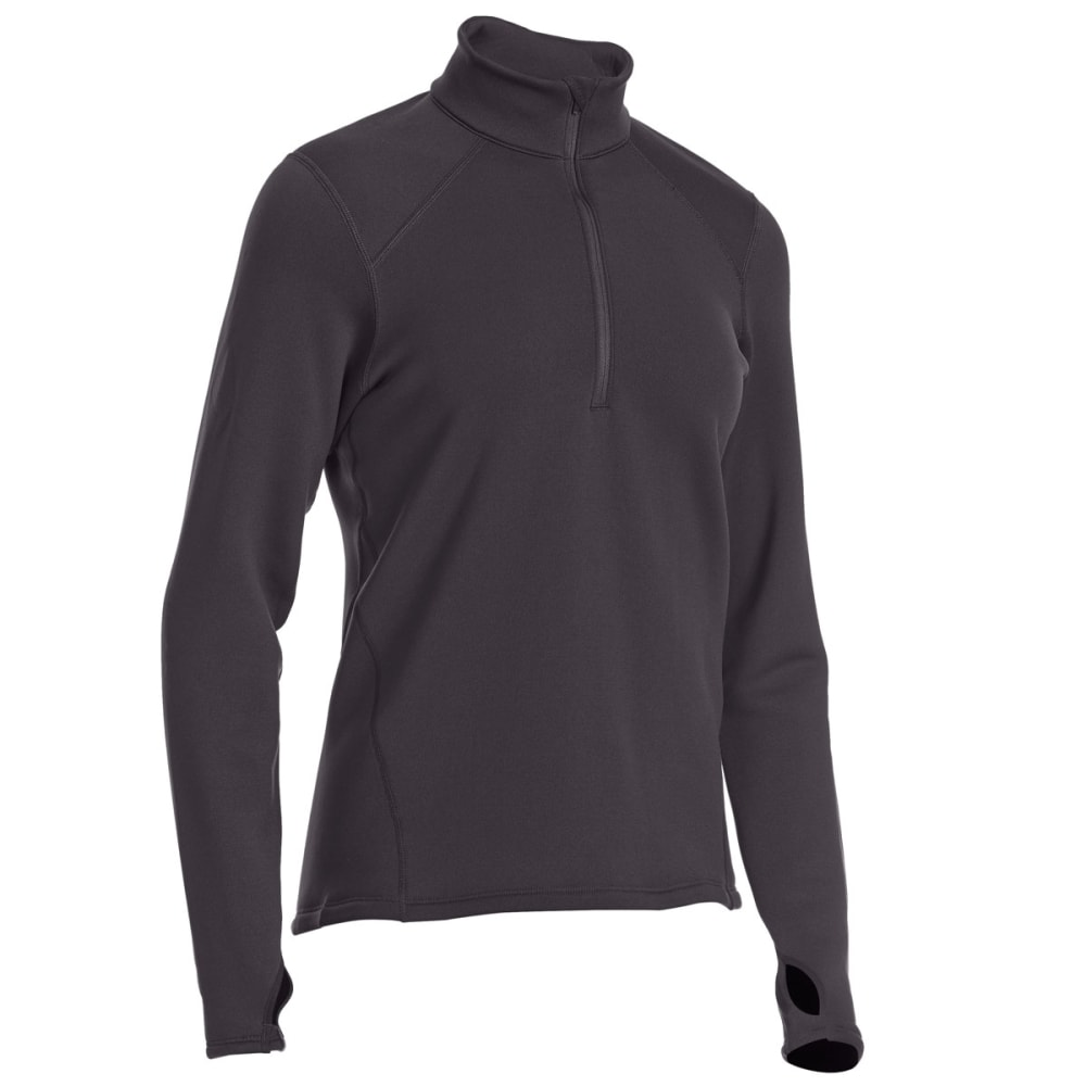 EMS® Women's Techwick® Heavyweight ¼-Zip Base Layer Top - BLACK