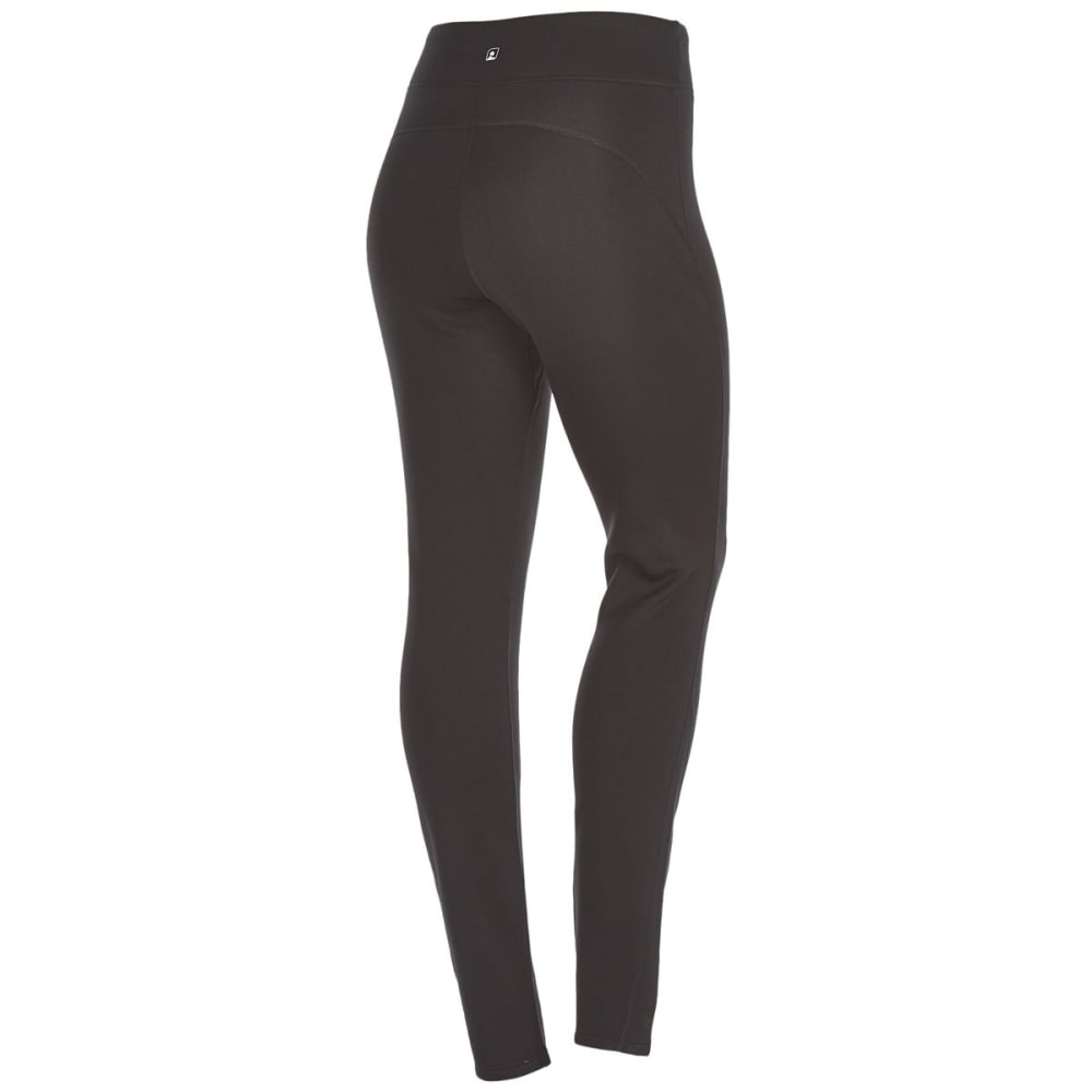 EMS Women's Techwick Heavyweight Base Layer Pants - BLACK