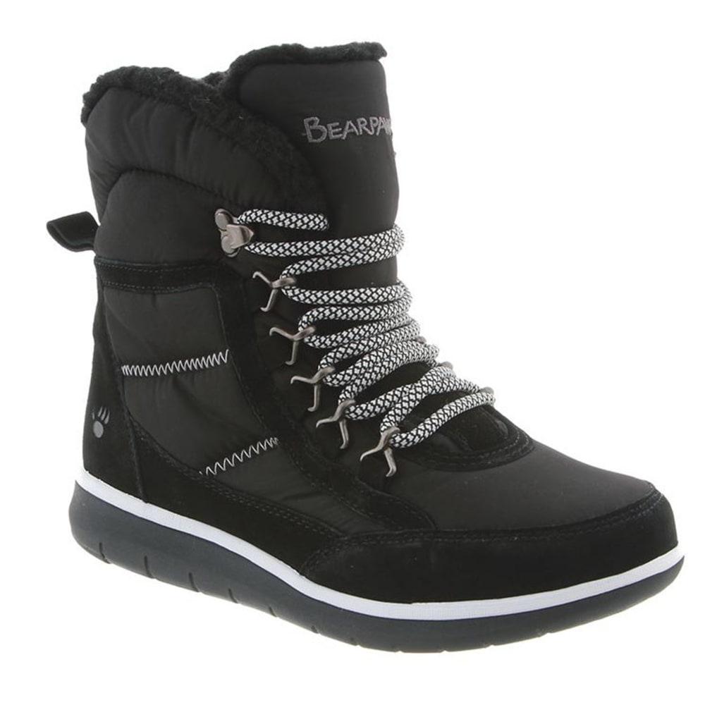 BEARPAW Women's Ruby Boots, Black - BLACK