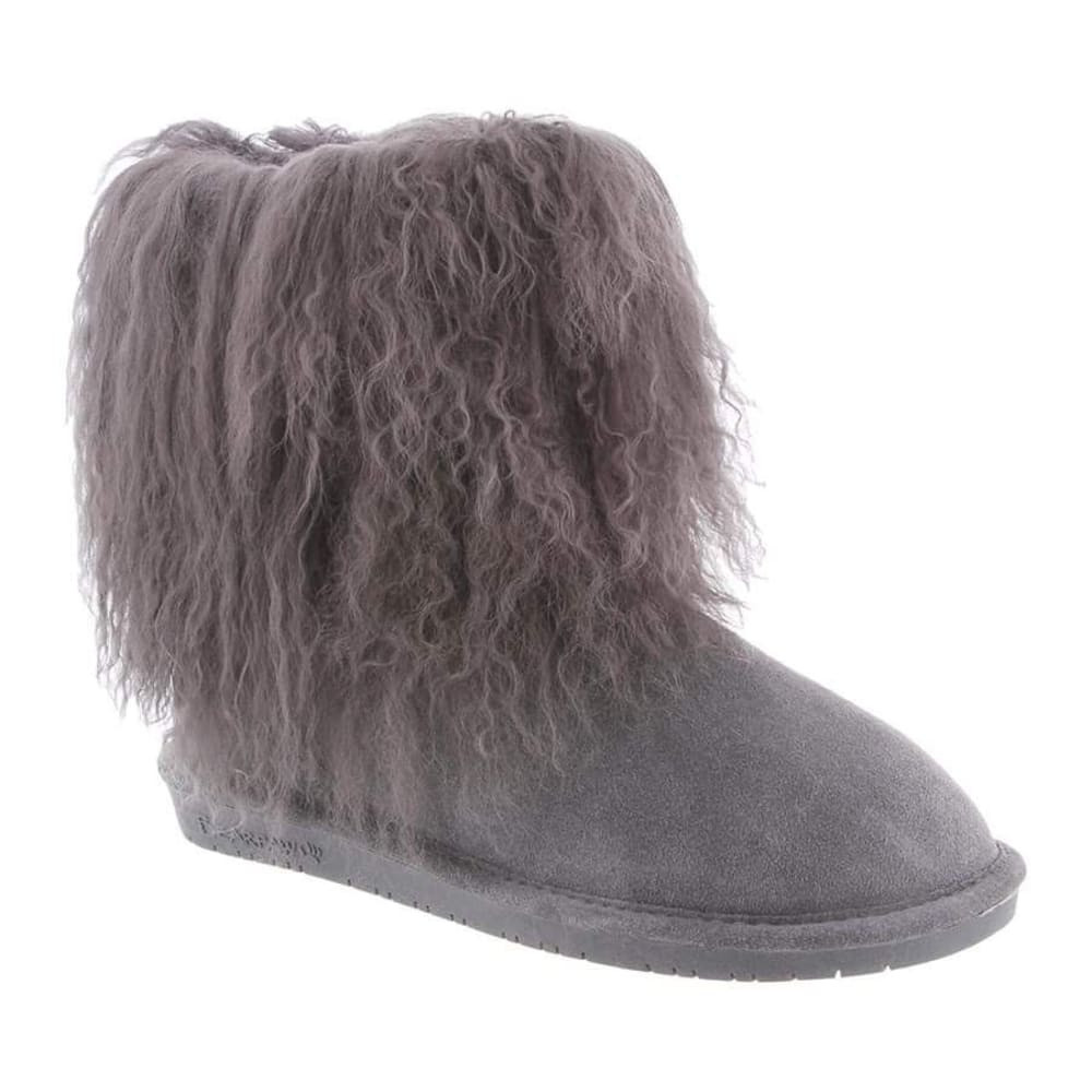 BEARPAW Women's Boo Boots, Charcoal - CHARCOAL