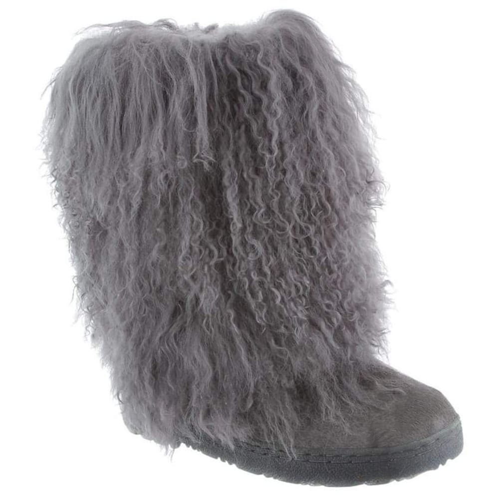 BEARPAW Women's Boetis II Boots, Charcoal - CHARCOAL