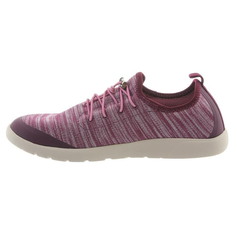 BEARPAW Women's Irene Shoes, Plum - PLUM