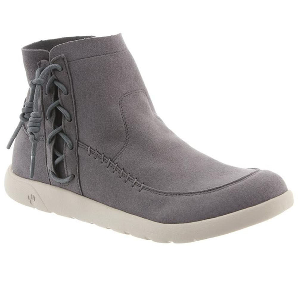 BEARPAW Women's Piper Boots, Dove Grey 5