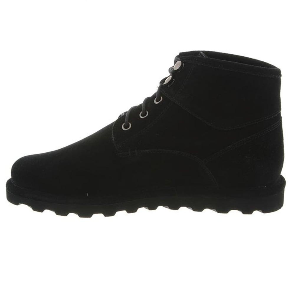 BEARPAW Men's Rueben Boots, Black II - BLACK II