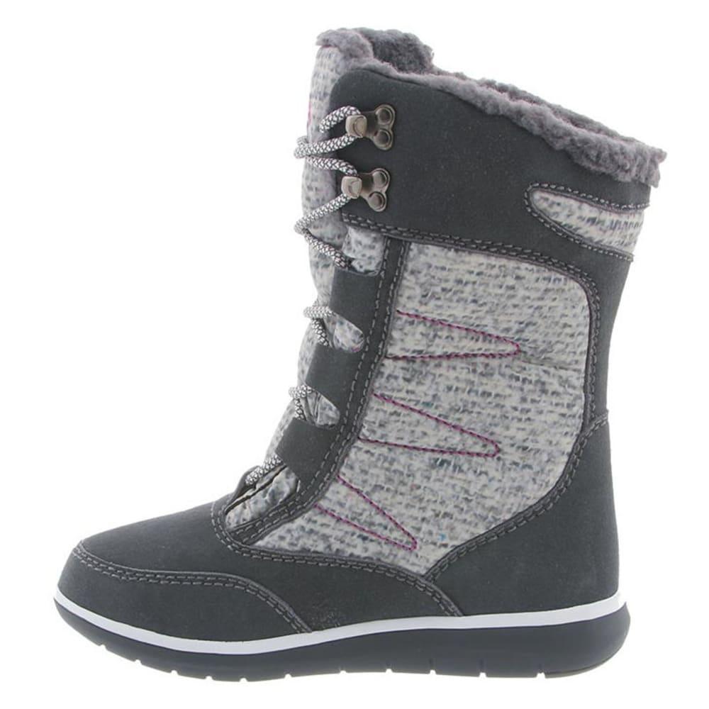 BEARPAW Women's Aretha Boots, Charcoal - CHARCOAL