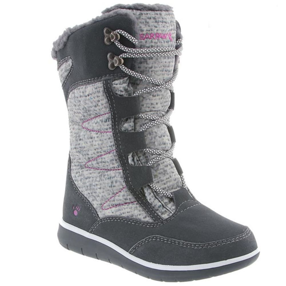 BEARPAW Women's Aretha Boots, Charcoal - CHARCOAL