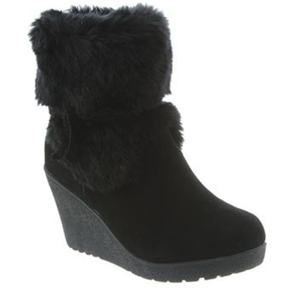 BEARPAW Women's Penelope Boots, Black II - BLACK II