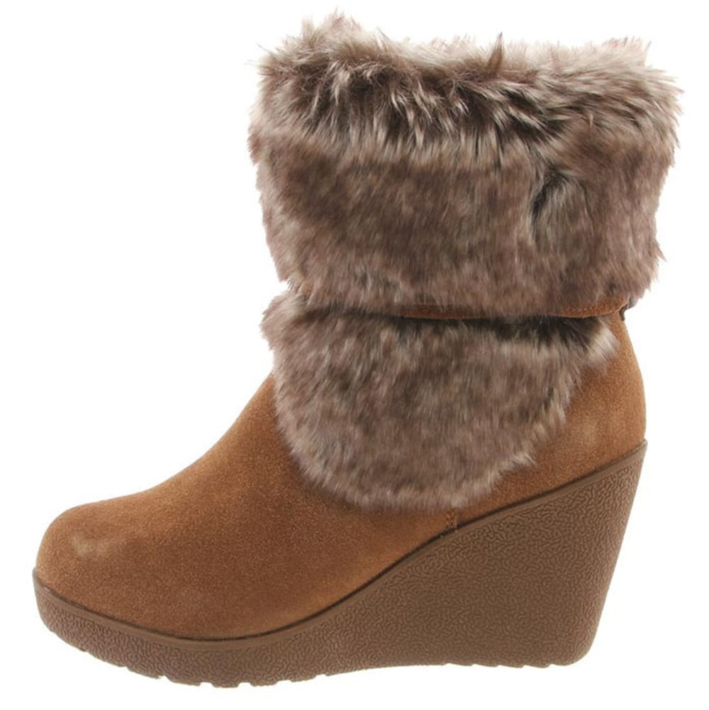 BEARPAW Women's Penelope Boots, Hickory II - HICKORY II