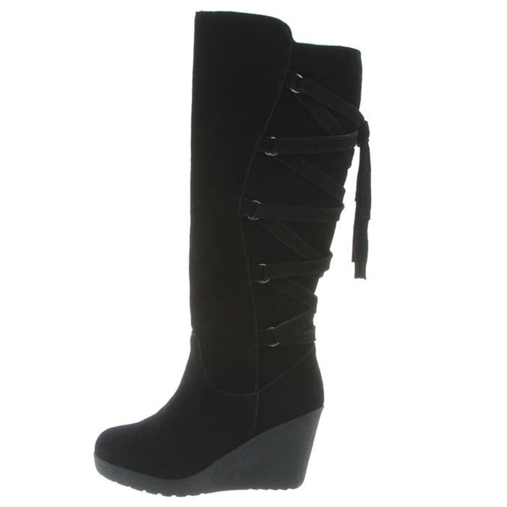 BEARPAW Women's Britney Boots, Black II - BLACK II