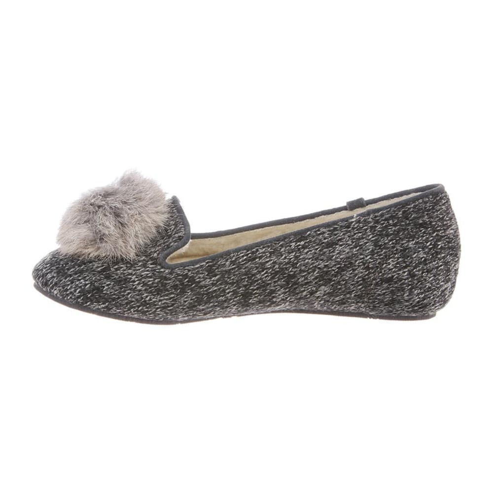 BEARPAW Women's Shae Shoes, Black/Grey - BLACK/GREY