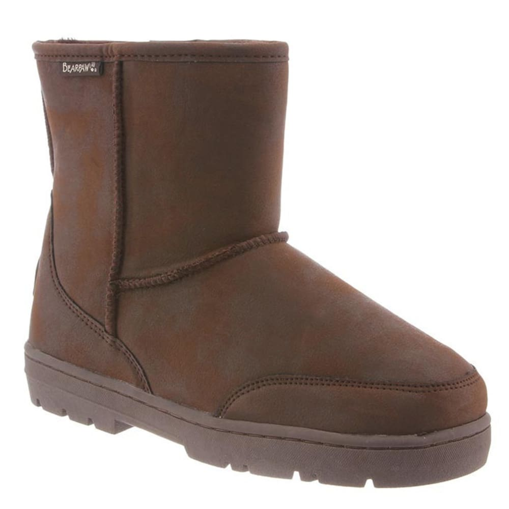 BEARPAW Men's Patriot Boots, Chocolate II - CHOCOLATE II