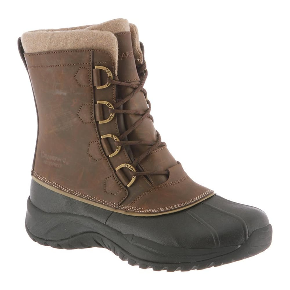 BEARPAW Men's Colton Boots, Chocolate II 8