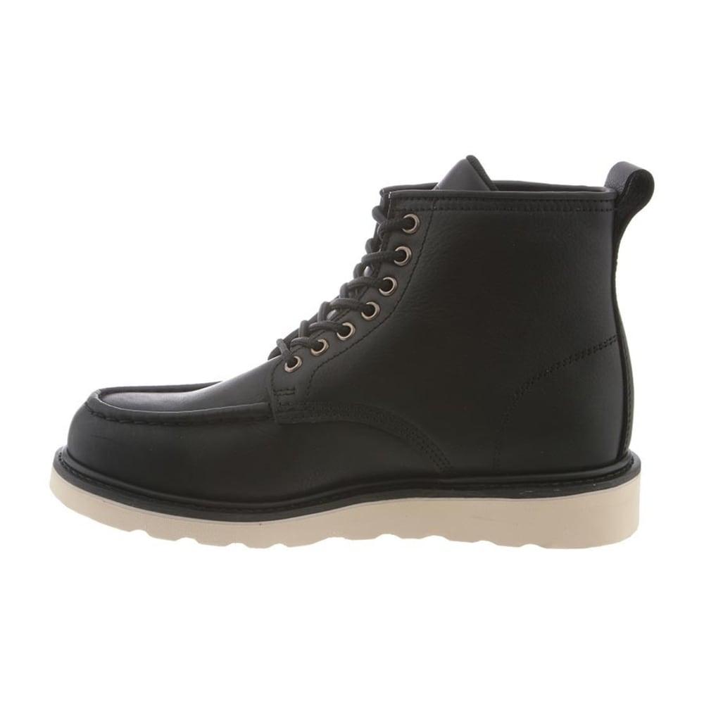 BEARPAW Men's Crockett Boots, Black II - BLACK II