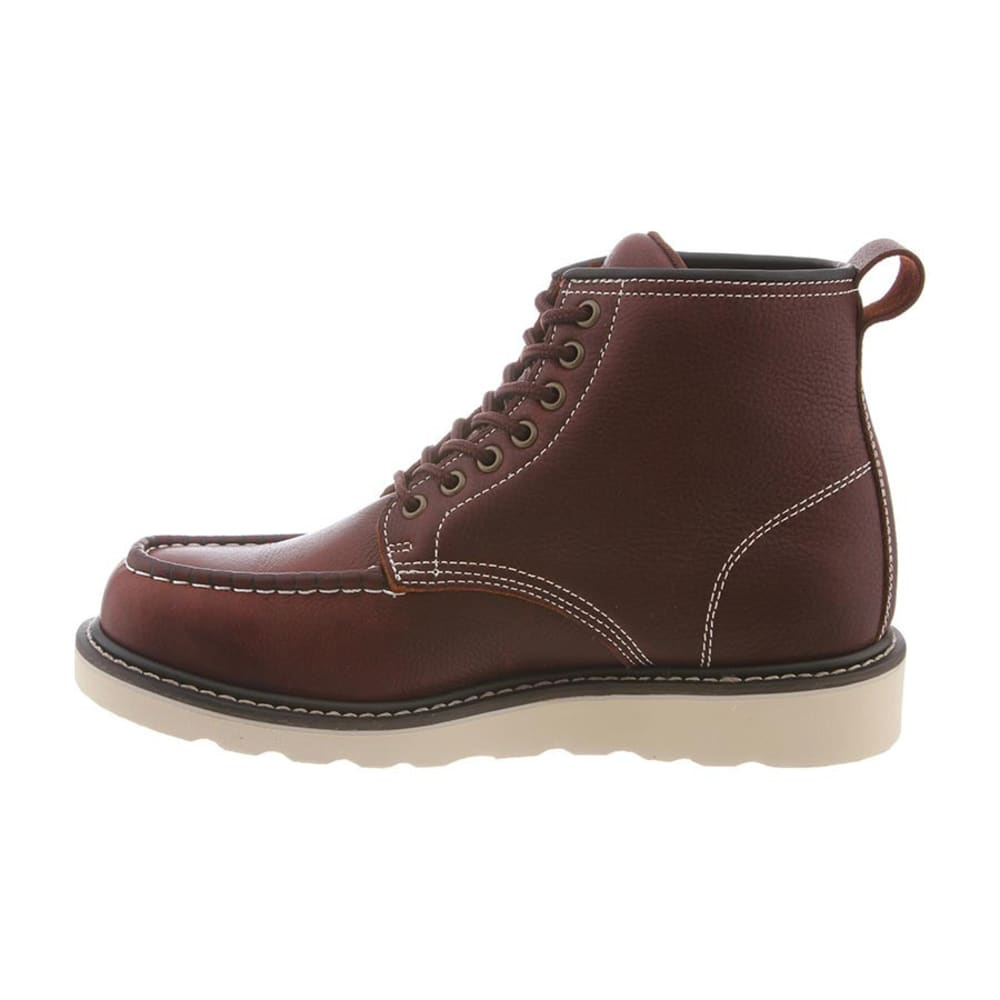 BEARPAW Men's Crockett Boots, Cordovan - CORDOVAN