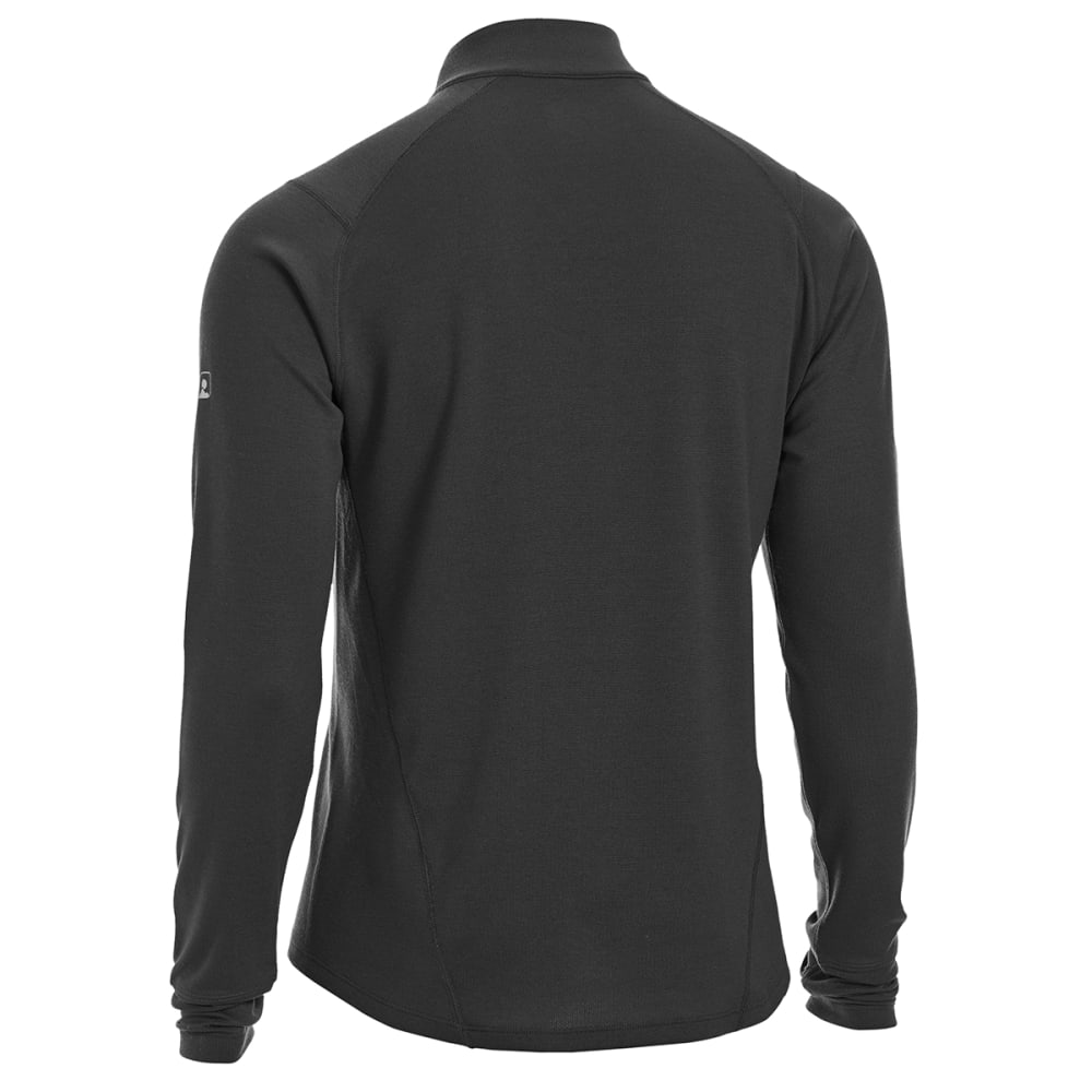 EMS® Men's Techwick® Midweight ¼-Zip Base Layer - BLACK