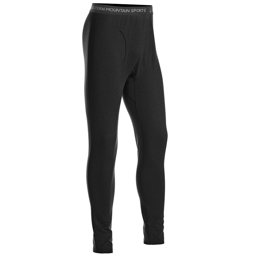 EMS Men's Techwick Midweight Base Layer Bottoms - BLACK