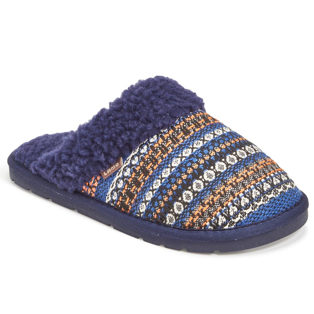 LAMO Women's Cora Fabric Slippers, Navy - NAVY