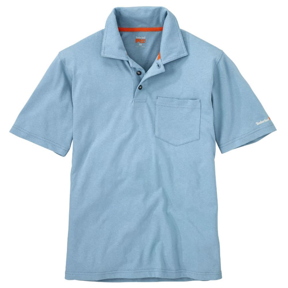21fc9aa6aea TIMBERLAND PRO Men's Base Plate Pocket Short-Sleeve Polo Shirt -. Hover  to zoom
