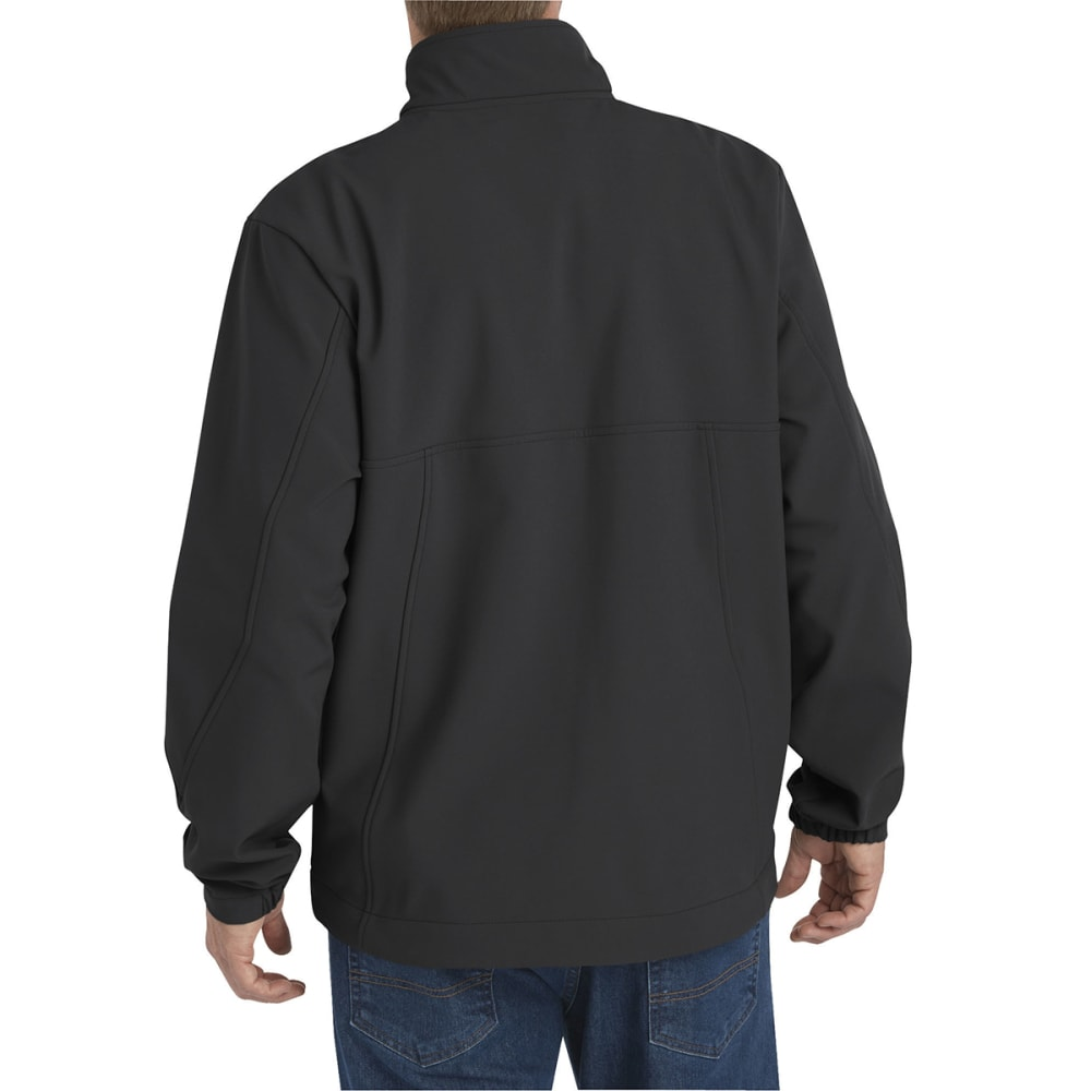 DICKIES Men's Performance Flex Softshell Jacket - BLACK