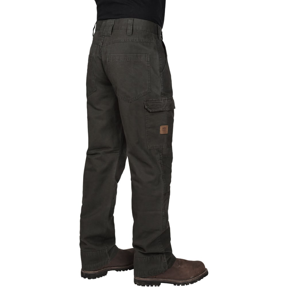 WALLS Men's Kickaround Vintage Cargo Work Pants - WFP9 WASHED FOREST S