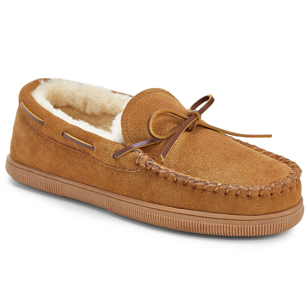 EMS Men's Denali Moc Slippers, Chestnut - CHESTNUT