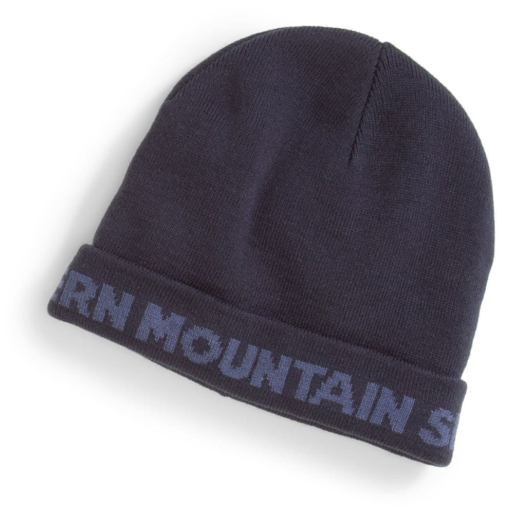 EMS Logo Knit Cap - BLUE NIGHTS