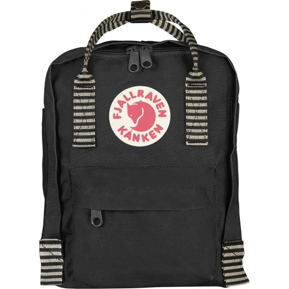 FJALLRAVEN Kånken Mini - BLACK-STRIPED