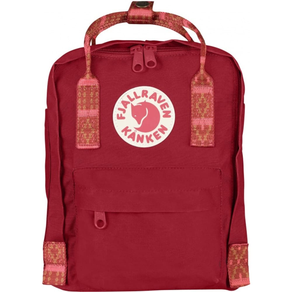 FJALLRAVEN Kånken Mini - DEEP RED-FOLK