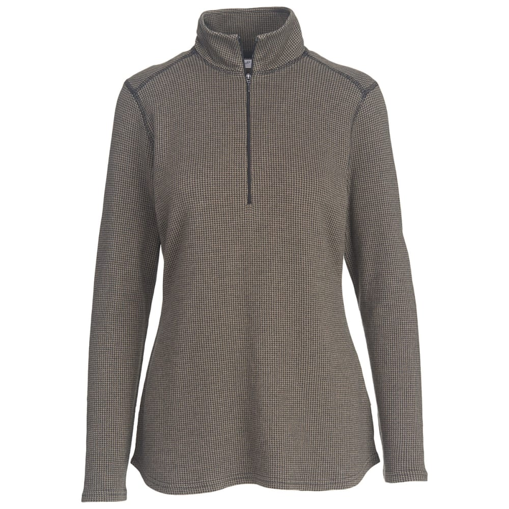 WOOLRICH Women's Canoe Run Half Zip Pullover - CANYON