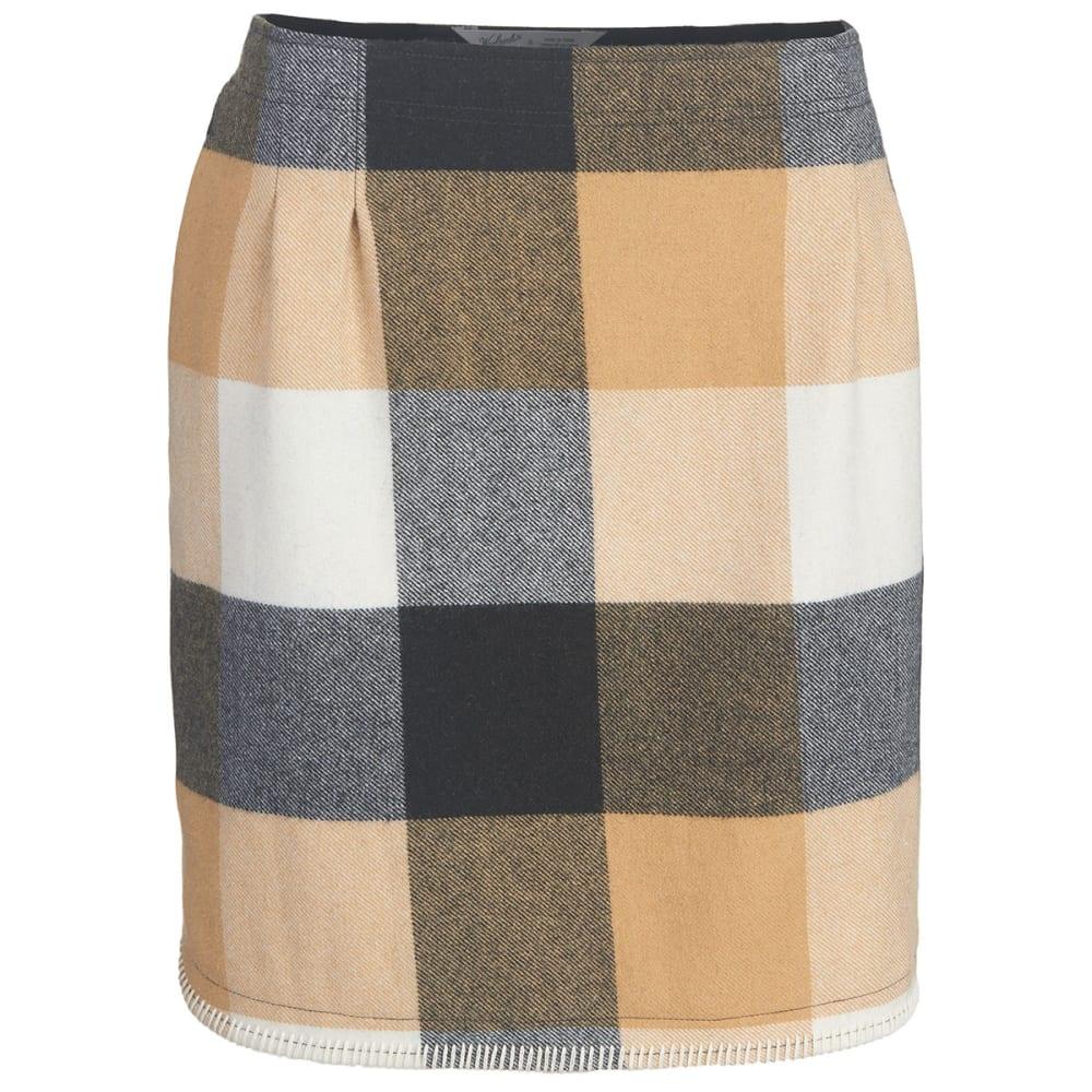 WOOLRICH Women's Richville II Wool Skirt - IVORY