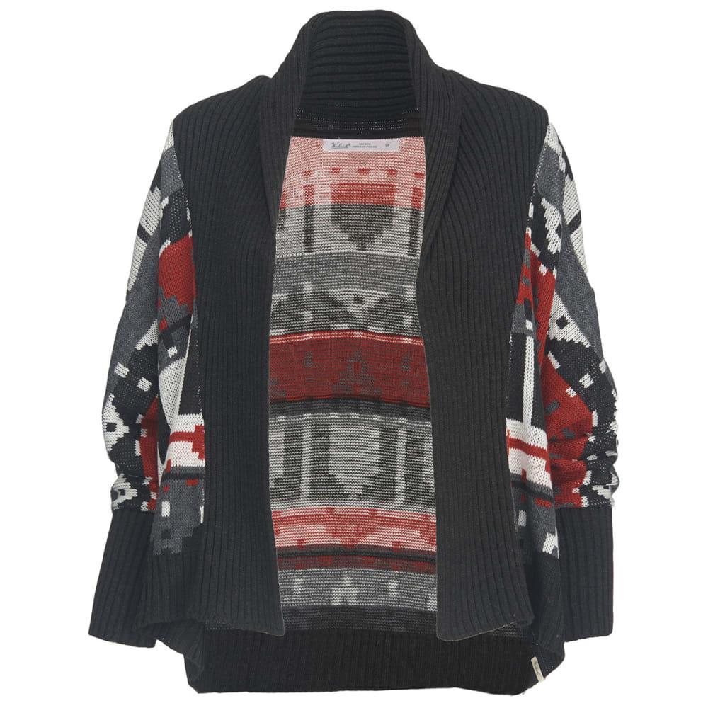 WOOLRICH Women's Harvest Cardigan Sweater - BLACK MULTI