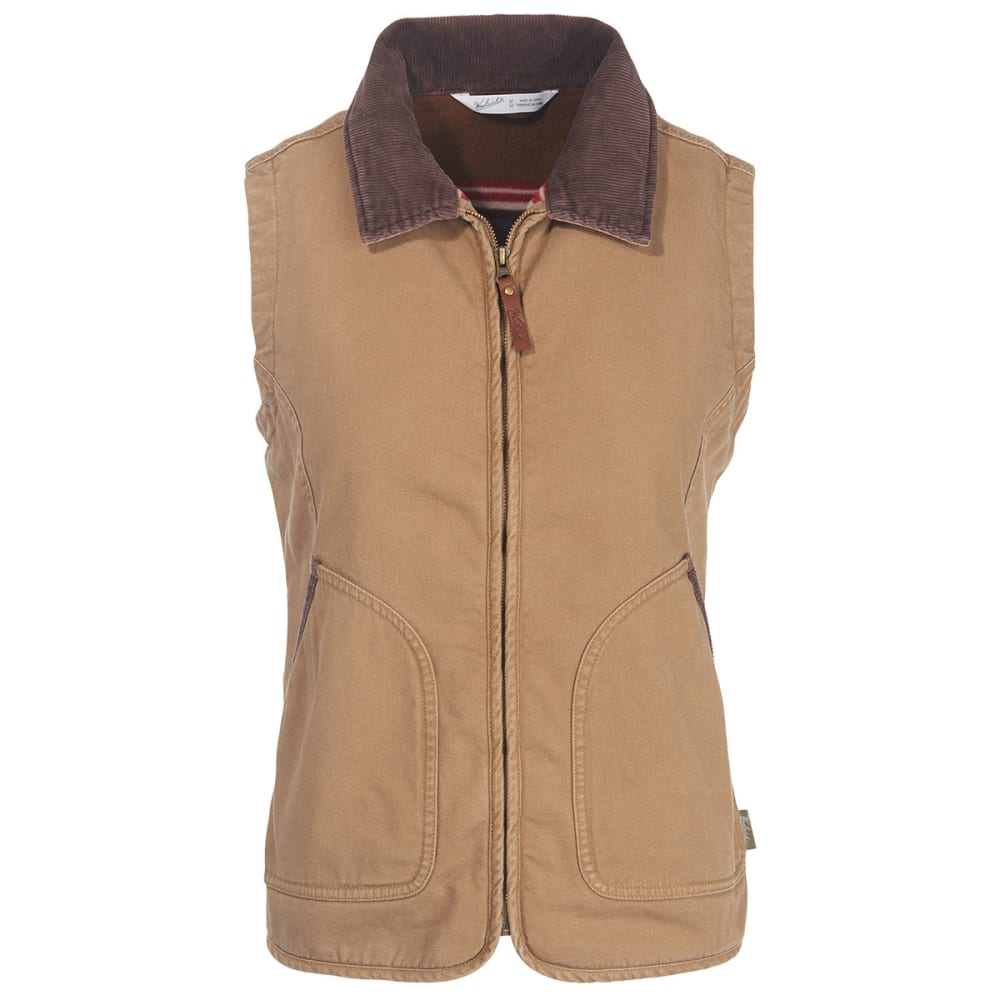 WOOLRICH Women's Dorrington Barn Vest - SEDIMENT
