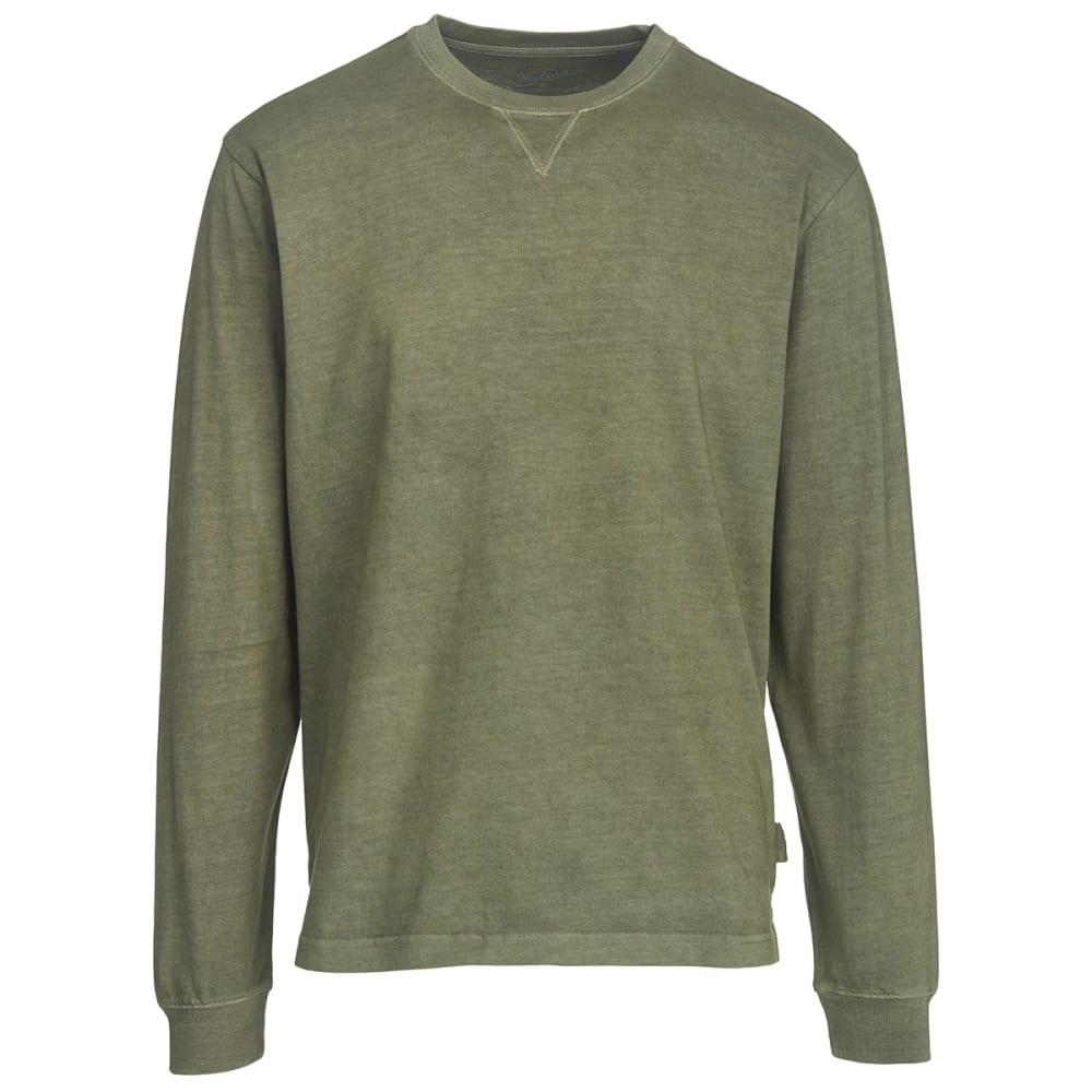 WOOLRICH Men's First Forks Long Sleeve T-Shirt - LICHEN GREEN