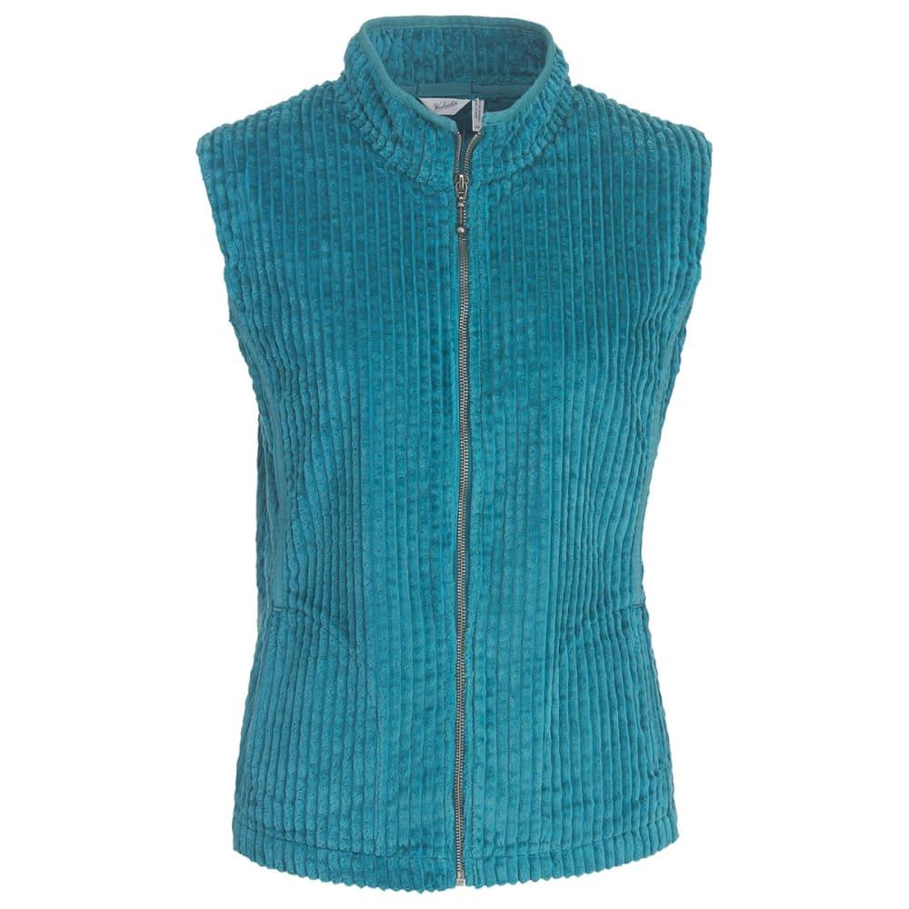 WOOLRICH Women's Kinsdale Corduroy Vest - OCEAN BLUE