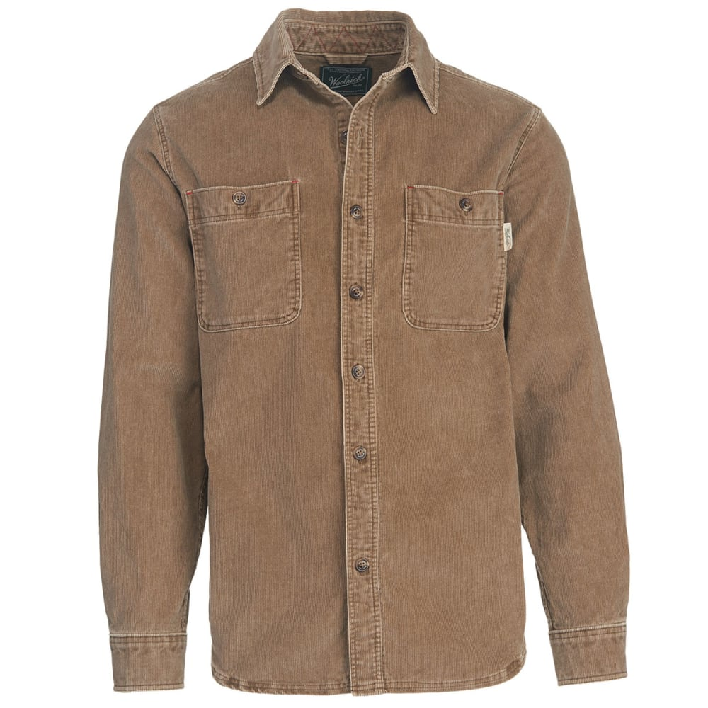 WOOLRICH Men's Hemlock Cordury Shirt II - EARTH BROWN