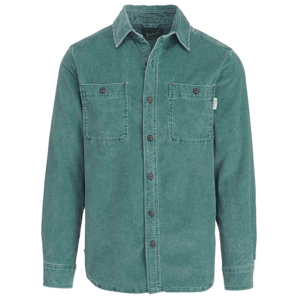 WOOLRICH Men's Hemlock Cordury Shirt II - PINE GROVE