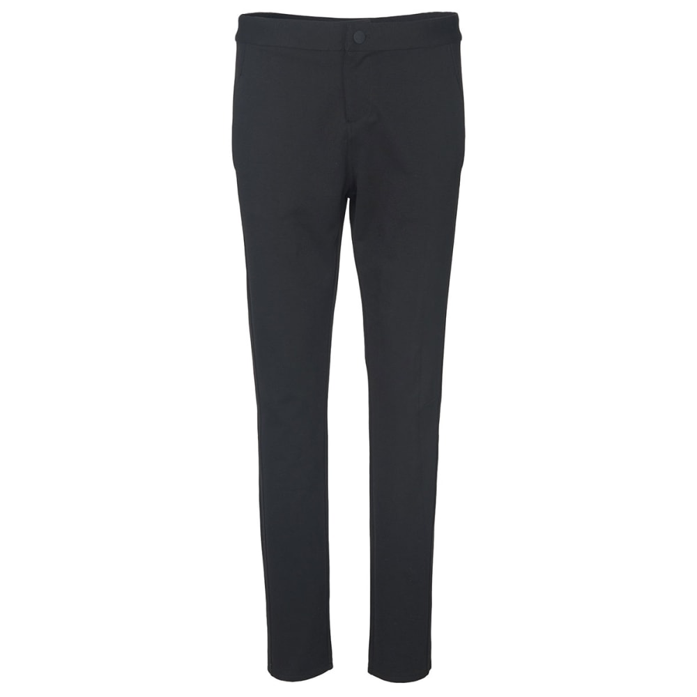 WOOLRICH Women's Back Up Beauty Ponte Pants - BLACK HTHR