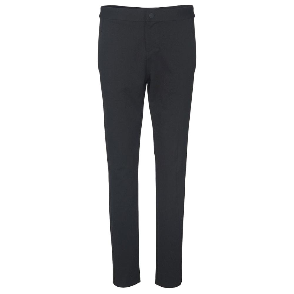 WOOLRICH Women's Back Up Beauty Ponte Pants - BLACK HTHR