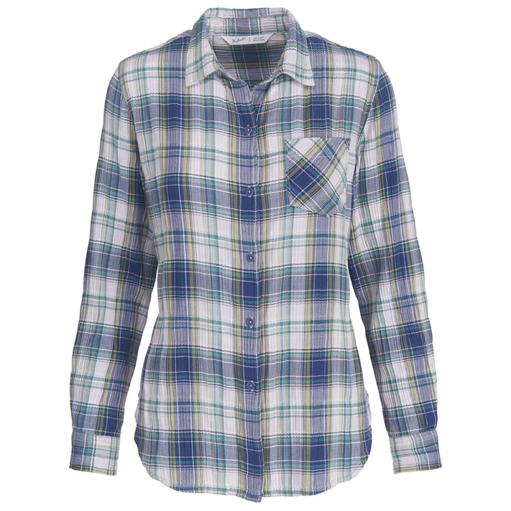 WOOLRICH Women's Kanan Eco Rich Lightweight Shirt - NEPTUNE