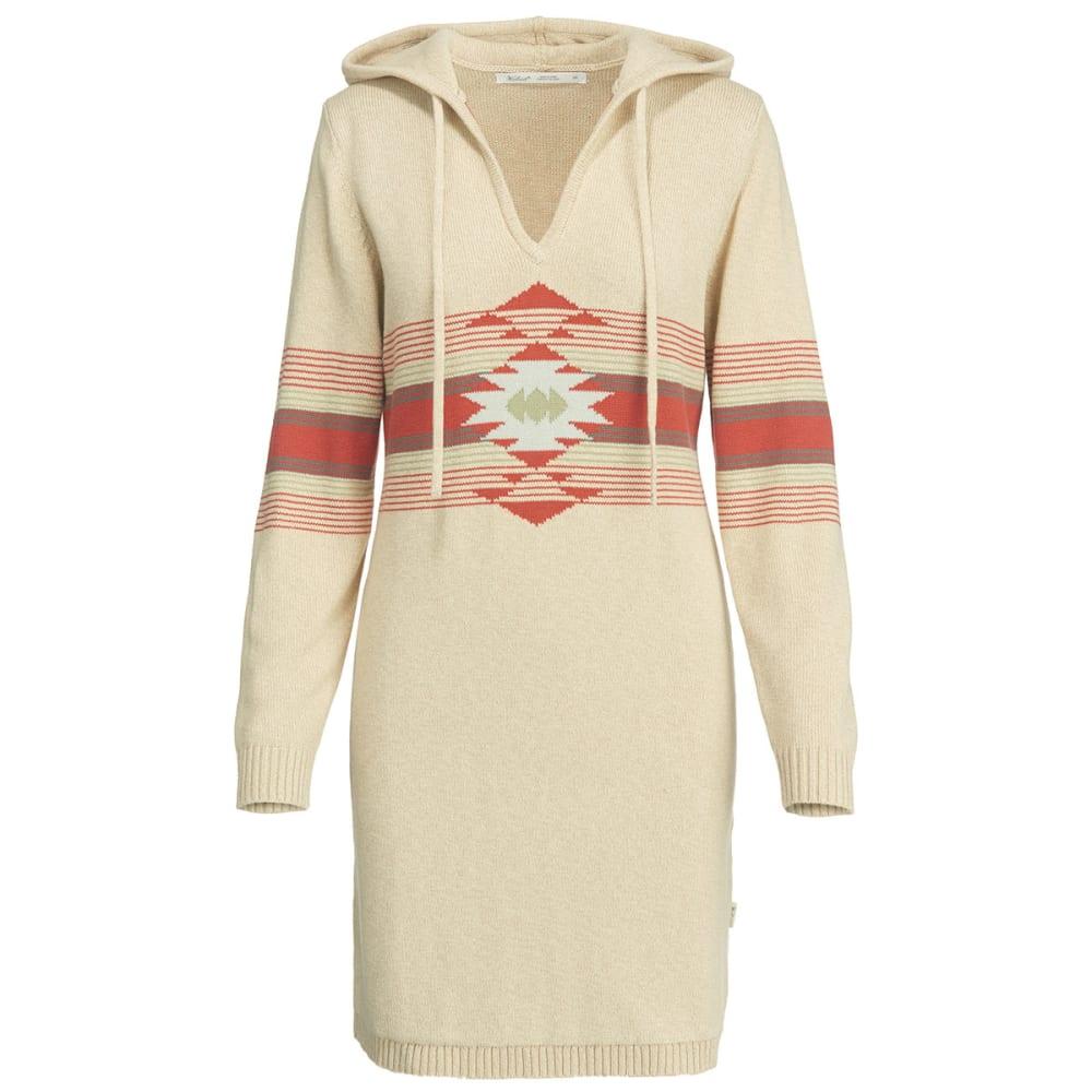 WOOLRICH Women's Little Plum Run Dress - BURLAP MARL